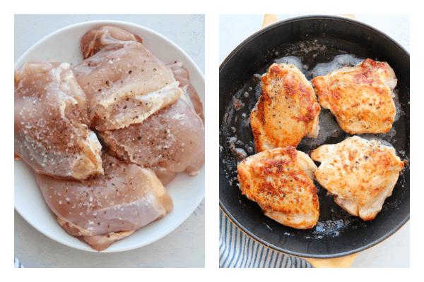 chicken paprikash step 1 Chicken Paprikash