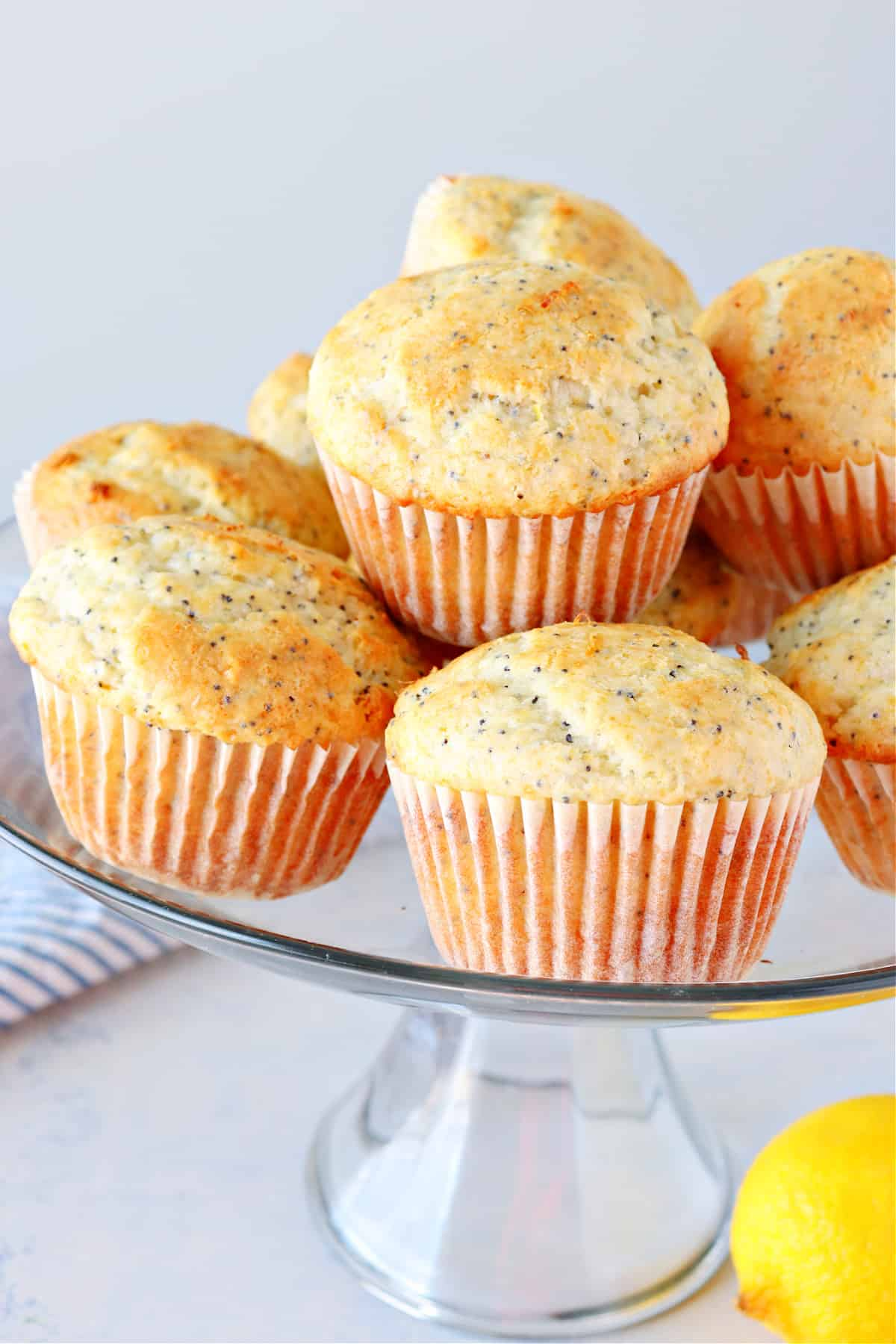 lemon poppy seed muffins C Lemon Poppy Seed Muffins