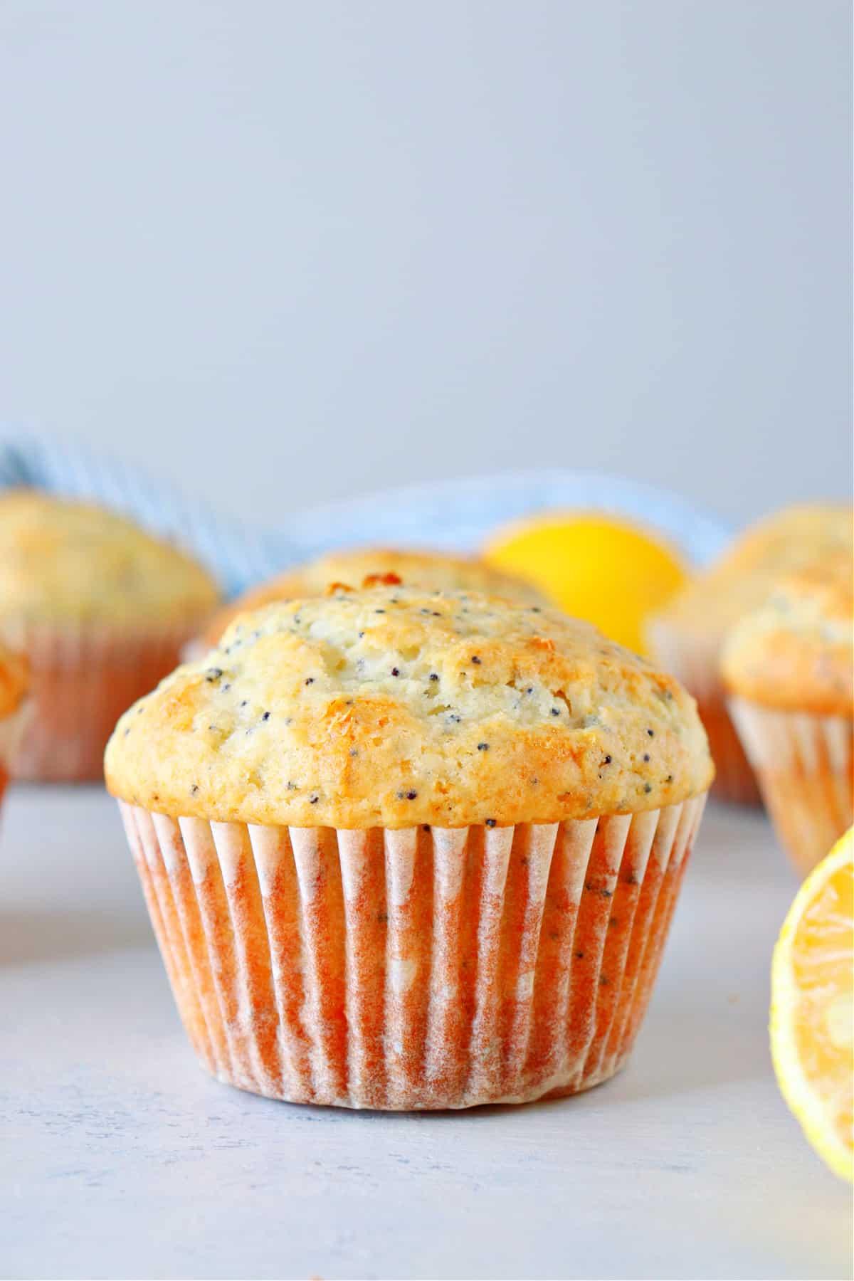 lemon poppy seed muffins D Lemon Poppy Seed Muffins