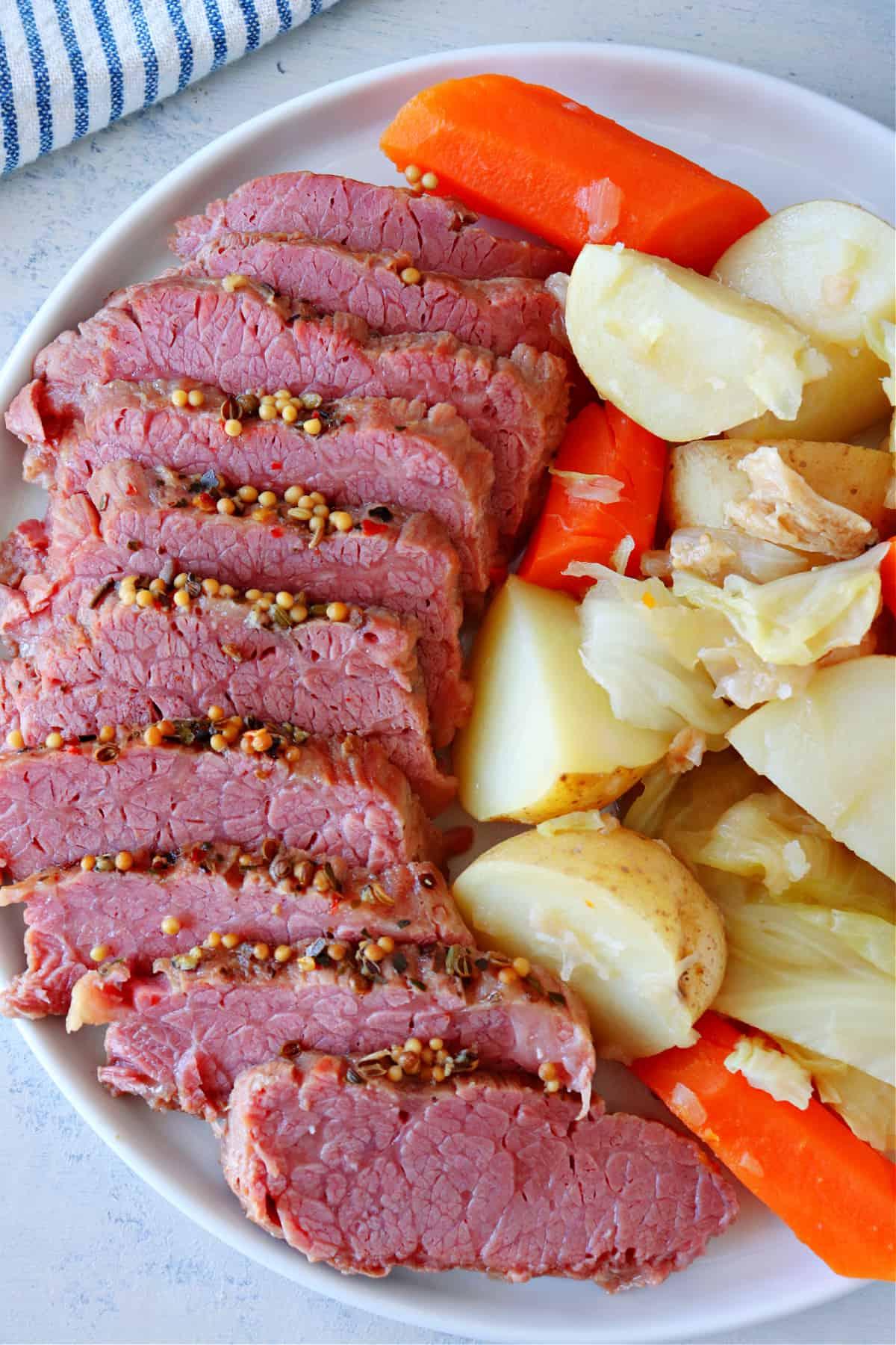 Instant Pot corned beef B. Instant Pot Corned Beef