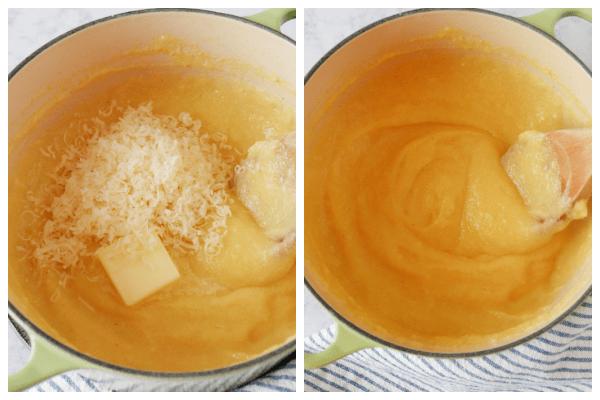 polenta step 3 and 4 Creamy Polenta Recipe