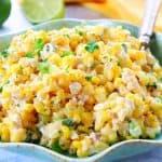Mexican corn salad 1 150x150 Mexican Street Corn Salad (Esquites)