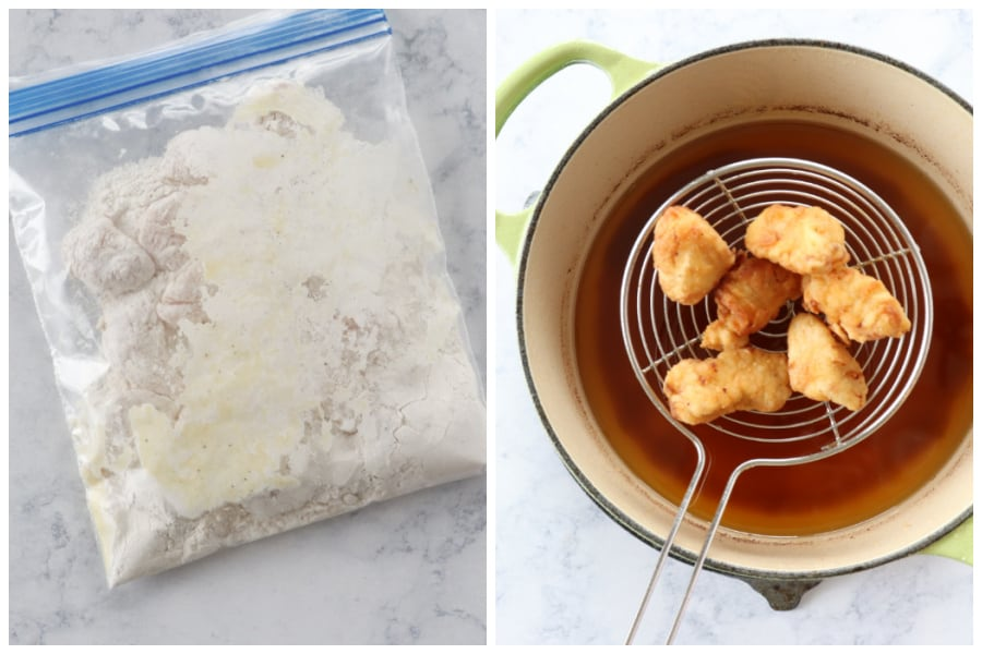 chick fil a nuggets step 4 Chick fil A Nuggets Copycat Recipe