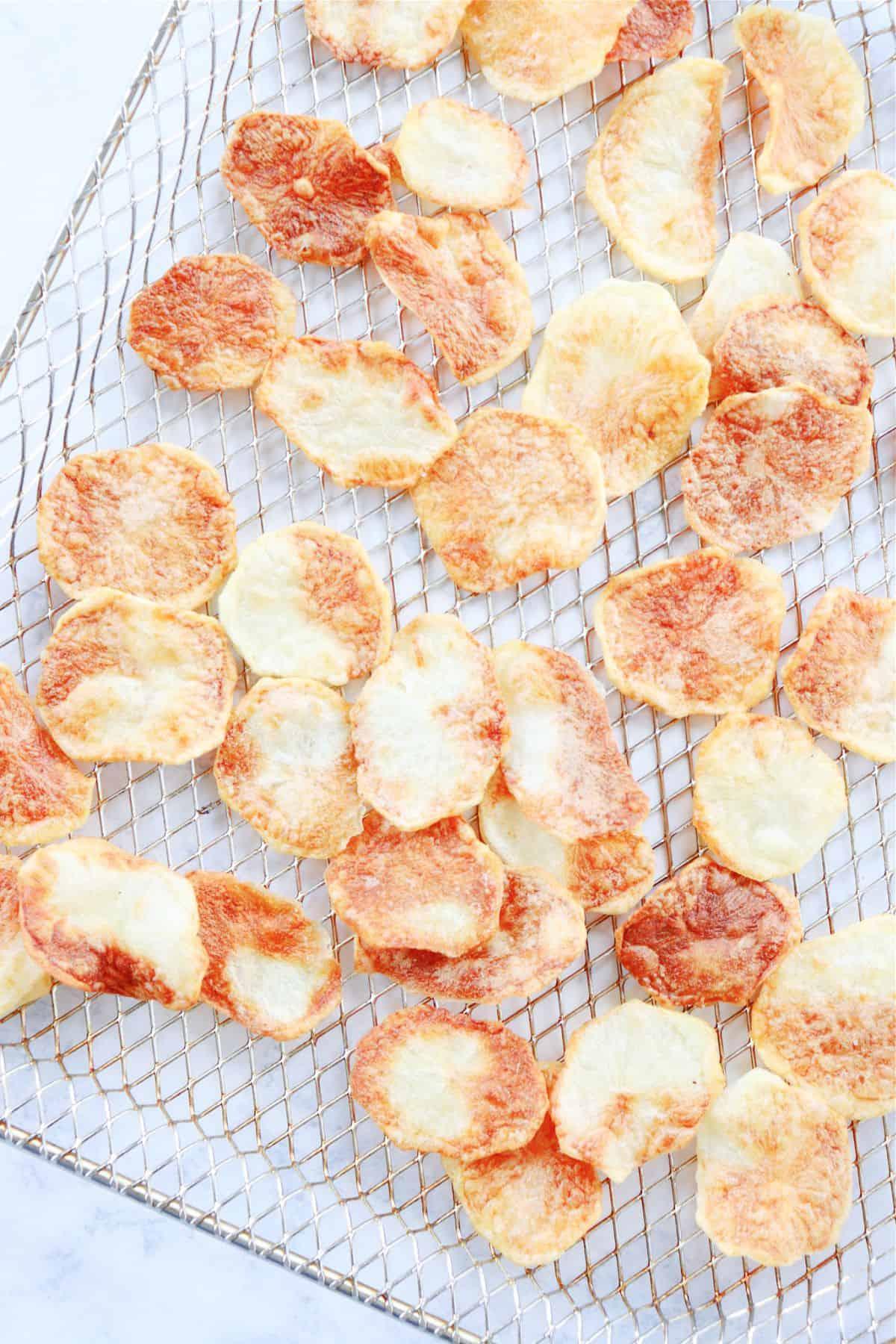 air fryer potato chips 3a Air Fryer Potato Chips