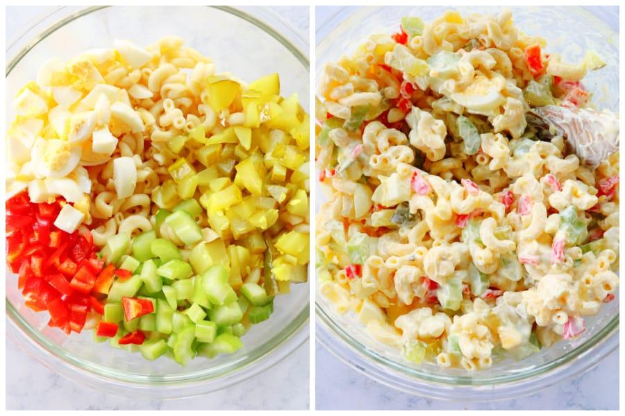 macaroni salad step 2 Simple Macaroni Salad