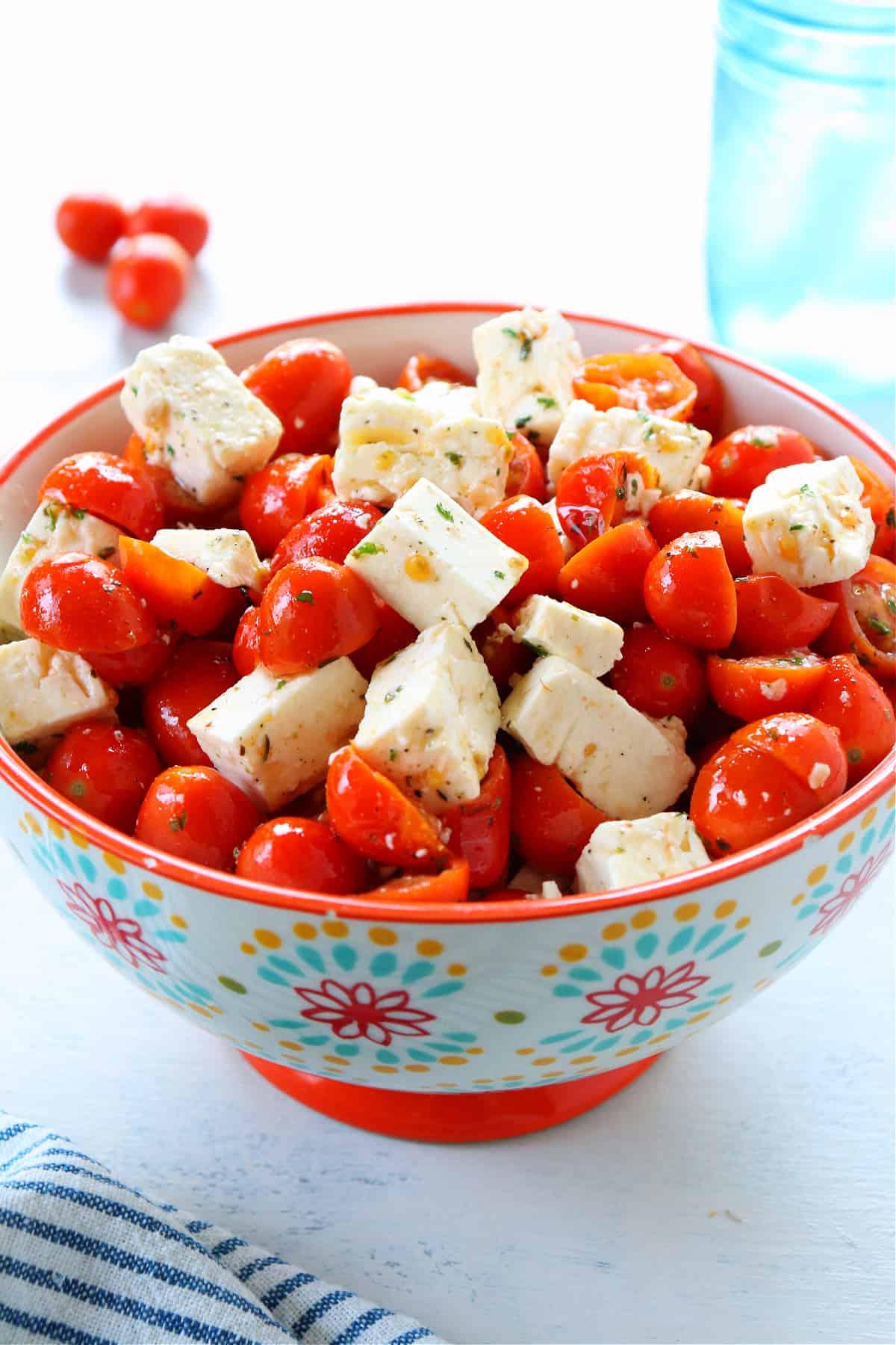 tomato feta salad 1 Tomato Feta Salad