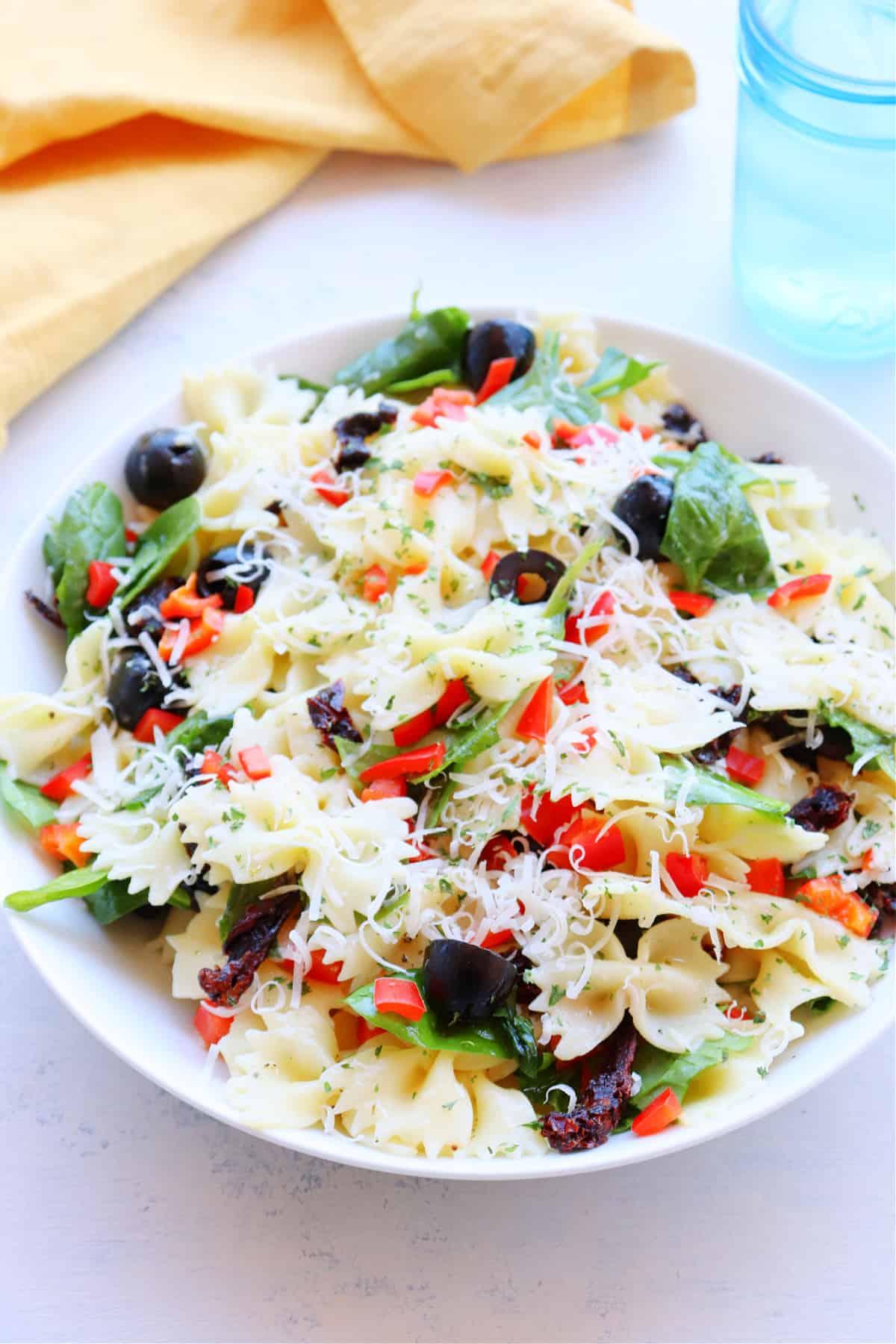 tuscan pasta salad 2 Tuscan Pasta Salad