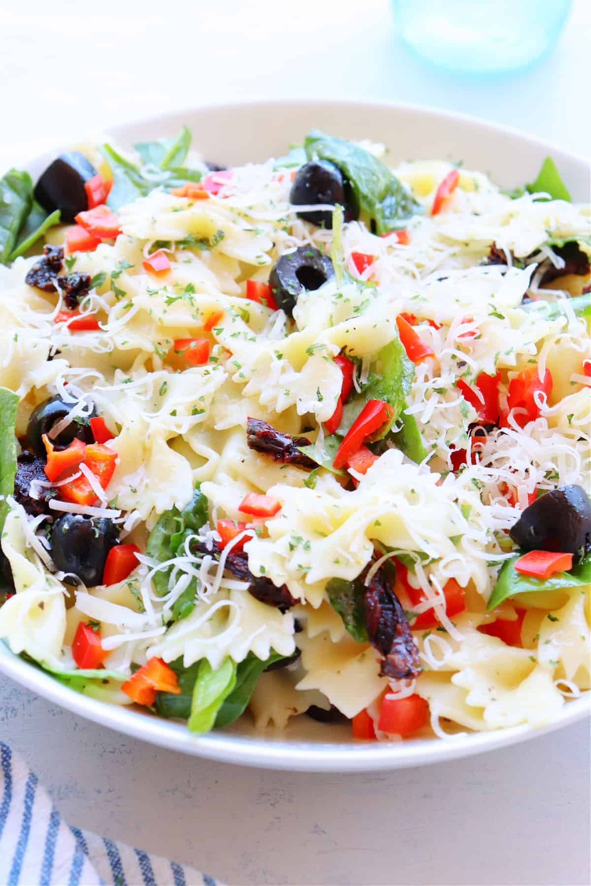 tuscan pasta salad 3 Tuscan Pasta Salad