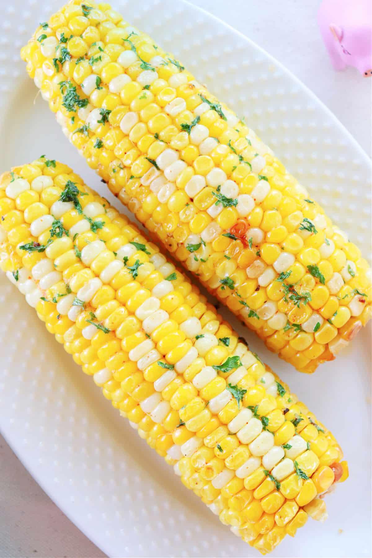air fryer corn on the cob 3 Air Fryer Corn on the Cob