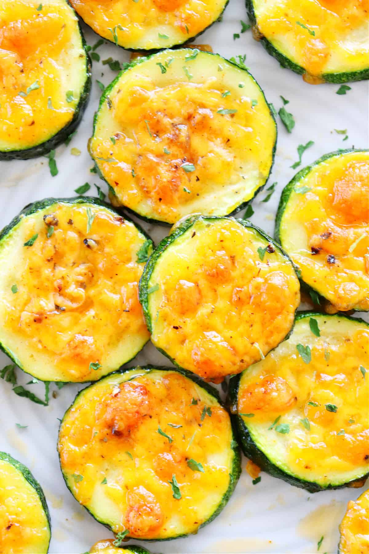 baked zucchini 1 Cheddar Baked Zucchini