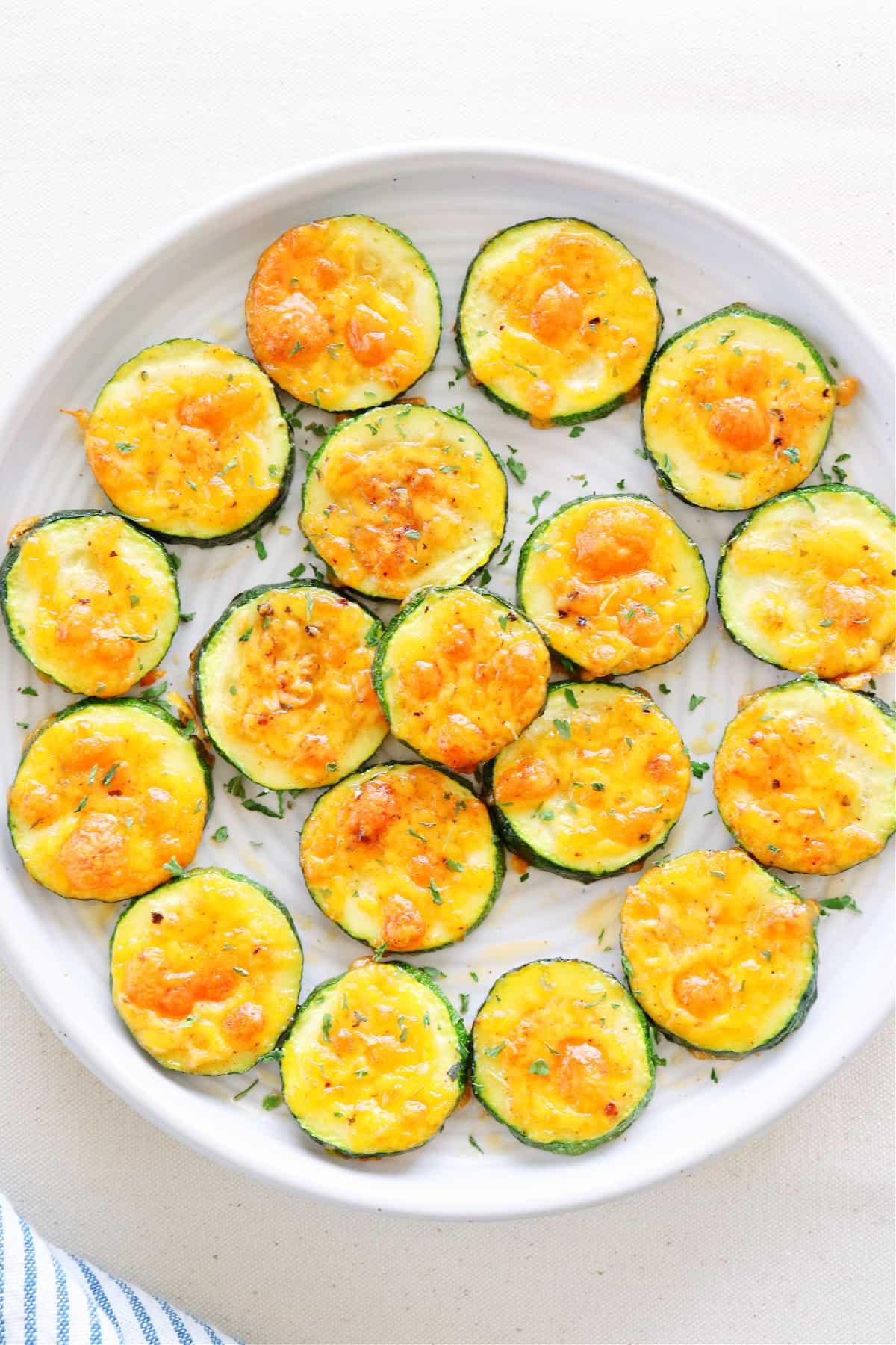 baked zucchini 4 Cheddar Baked Zucchini