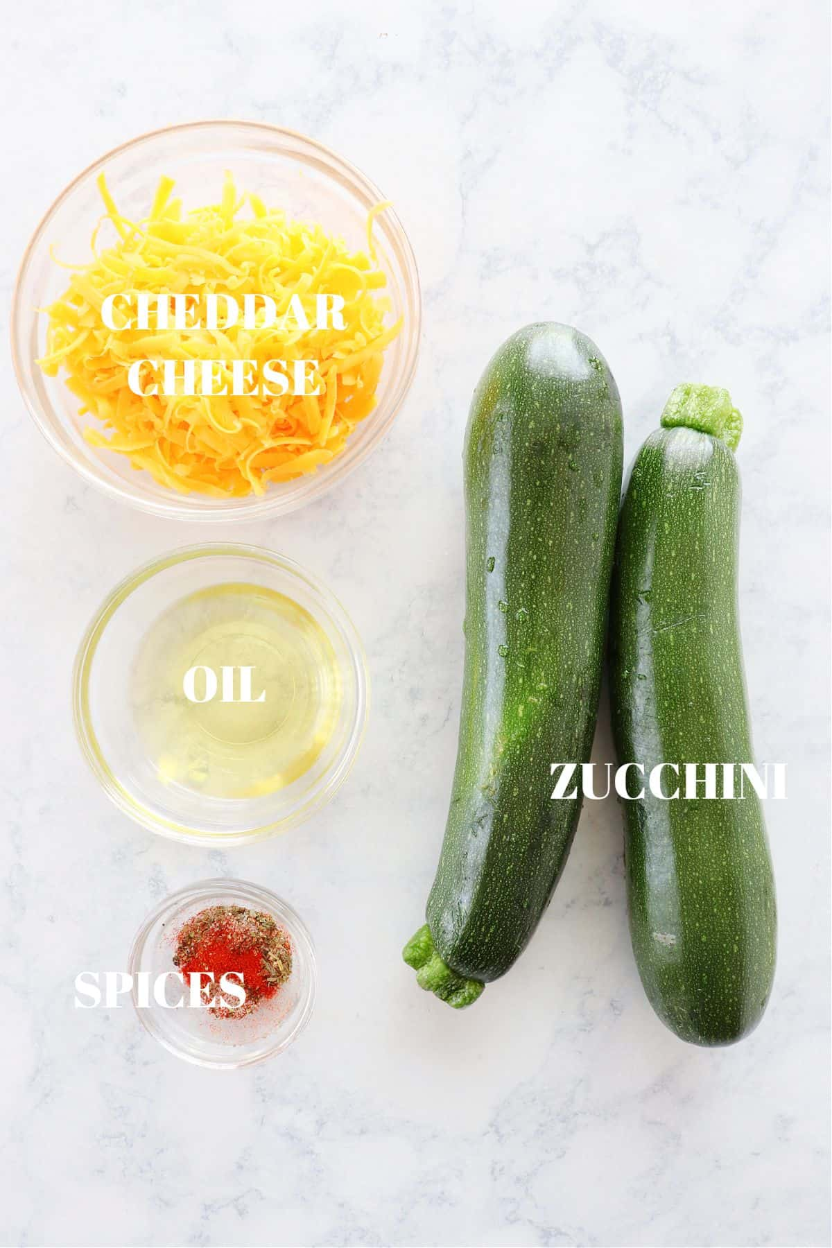 baked zucchini ingredients Cheddar Baked Zucchini