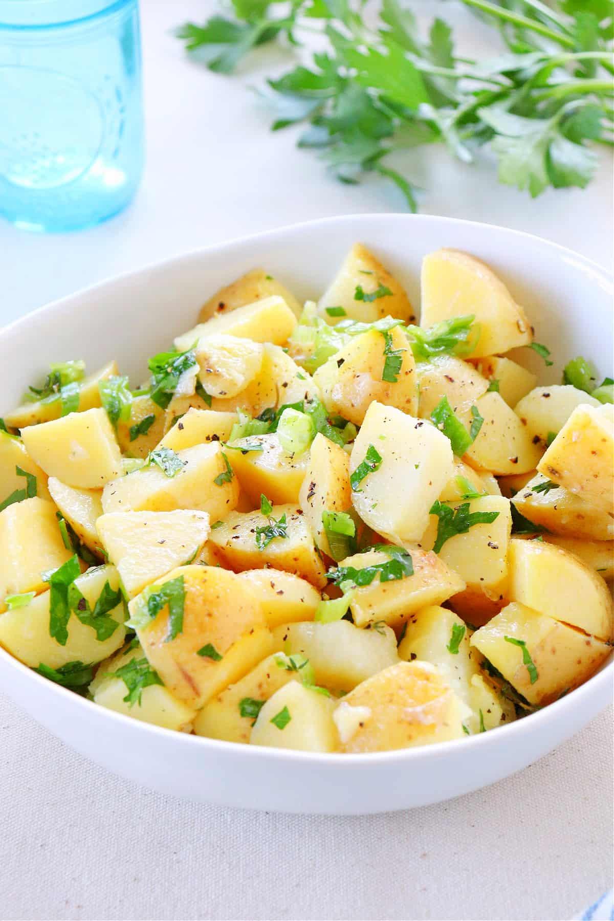 no mayo potato salad 2 No Mayo Potato Salad