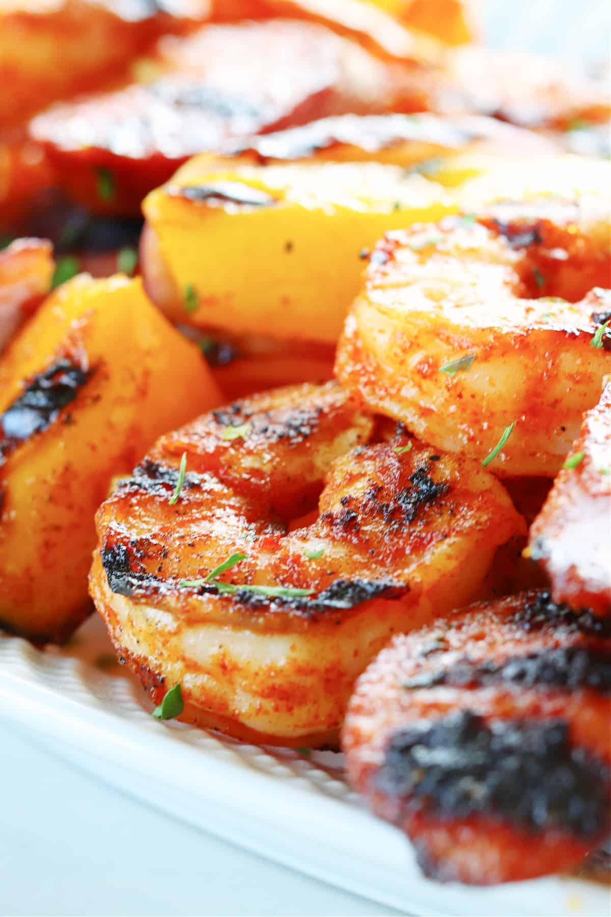 shrimp and sausage skewers 2 Shrimp and Sausage Skewers (Keto Friendly)
