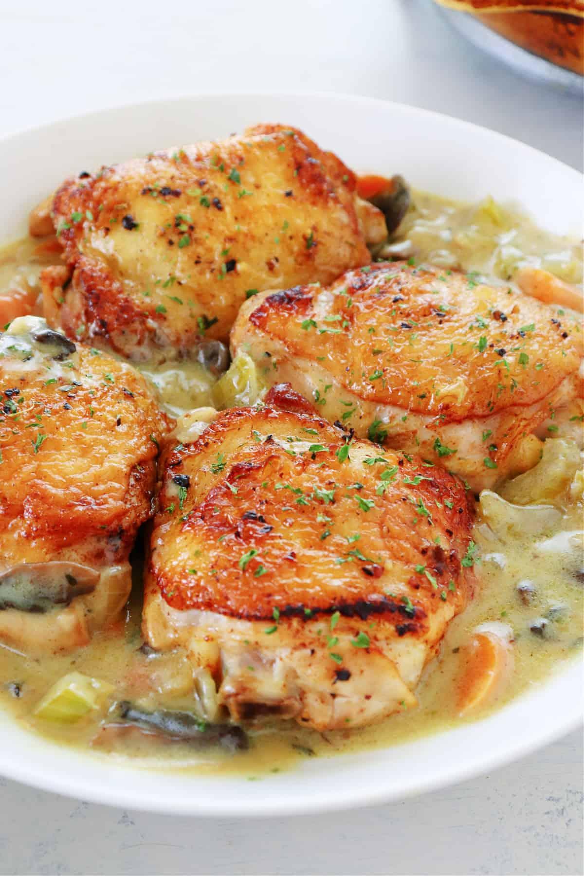 chicken fricasse 3 Easy Chicken Fricassee