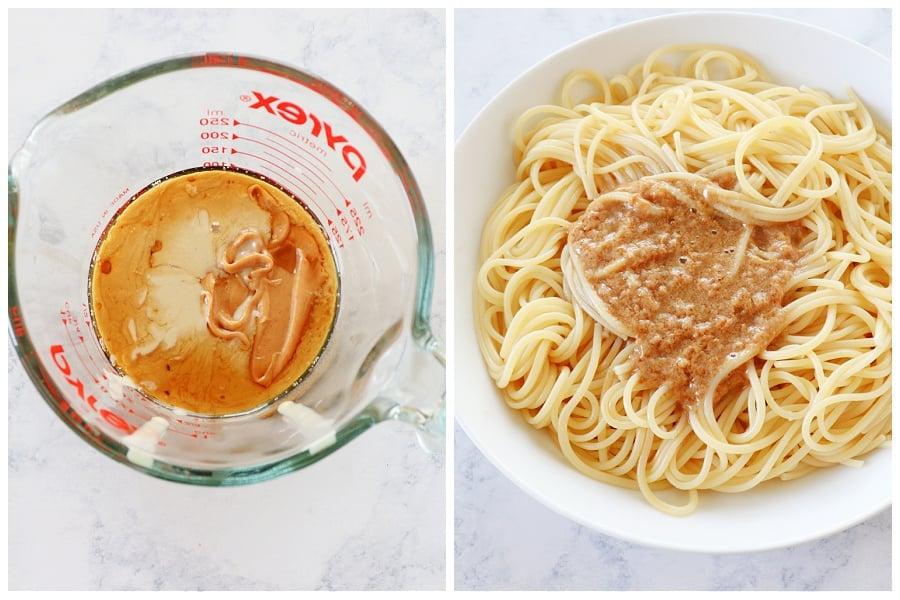 sesame noodles step 1 and 2 Sesame Noodles