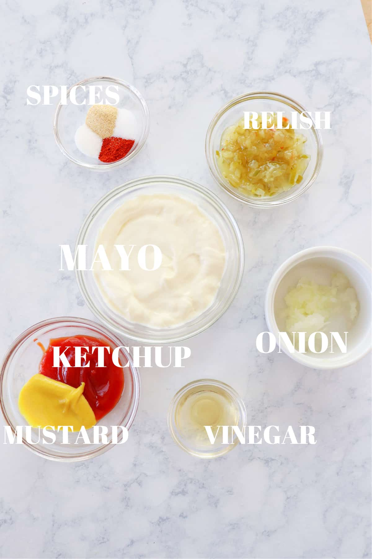big mac sauce ingredients 2 Big Mac Sauce Copycat Recipe