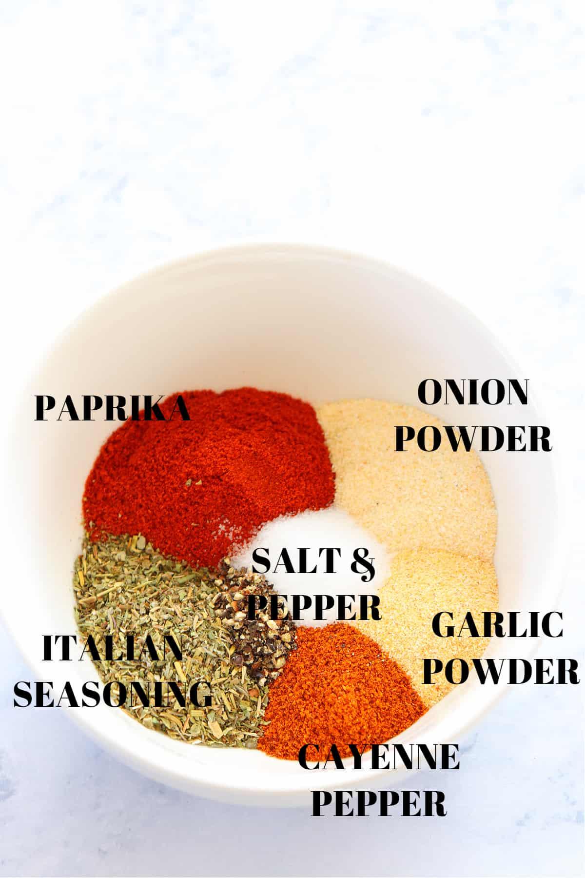 blackened seasoning ingredients 1 Blackened Seasoning Recipe