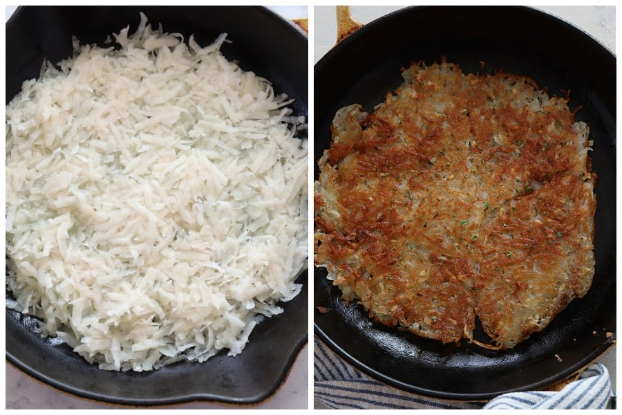 hash browns step 3 and 4 Hash Browns recipe