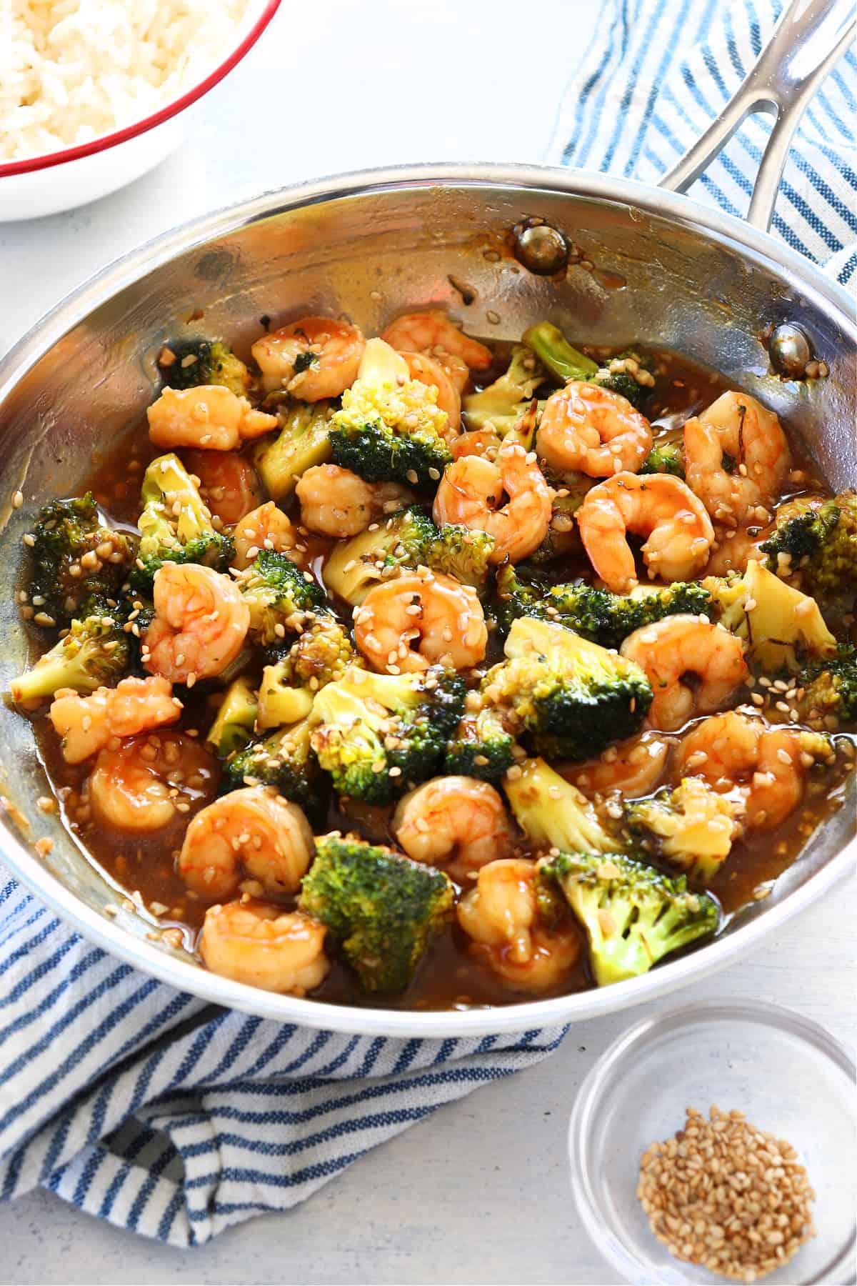 shrimp and broccoli 4 Shrimp and Broccoli