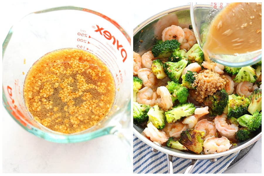 shrimp and broccoli step 3 and 4 Shrimp and Broccoli
